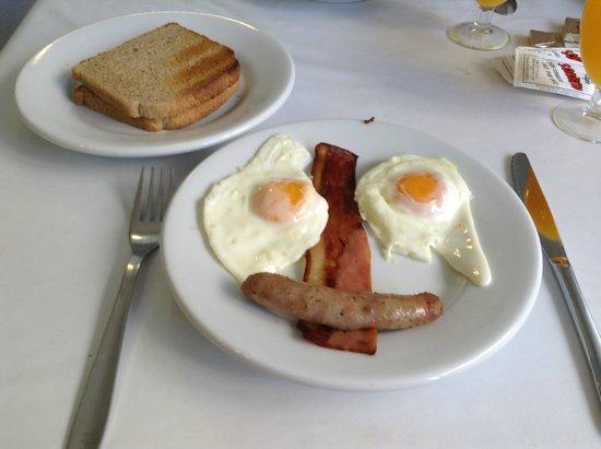Hotel Moreyo: full english breakfast
