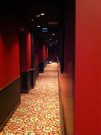 Le Belmont Hotel : Hallway