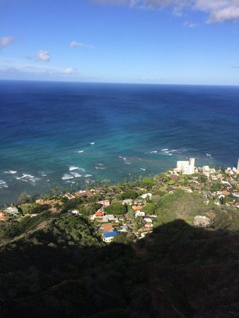 Diamond Head: View from DH
