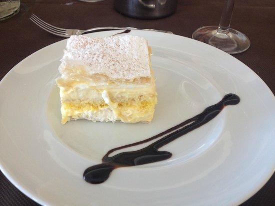 Hotel Augustus: Dessert