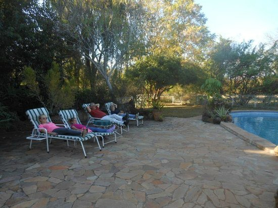 Musangano Lodge: Pool area