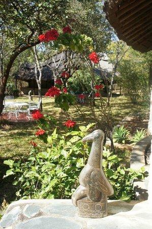 Musangano Lodge: Reception area