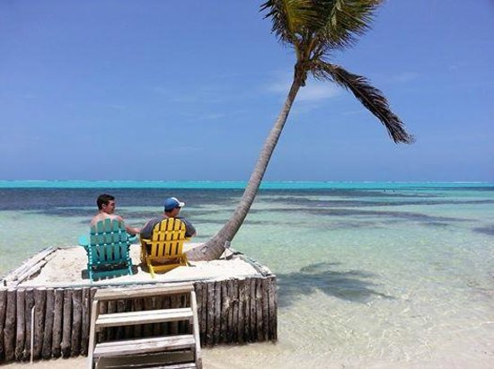 Belizean Shores Resort : Relaxing at X'tan Ha