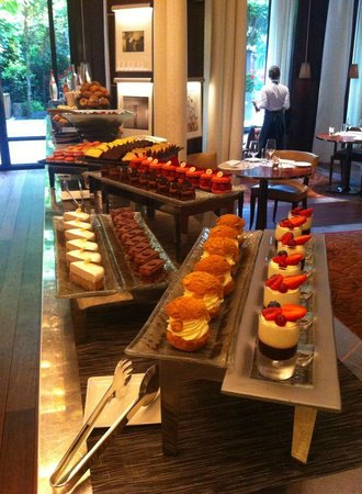 Le Royal Monceau-Raffles Paris : les desserts - brunch