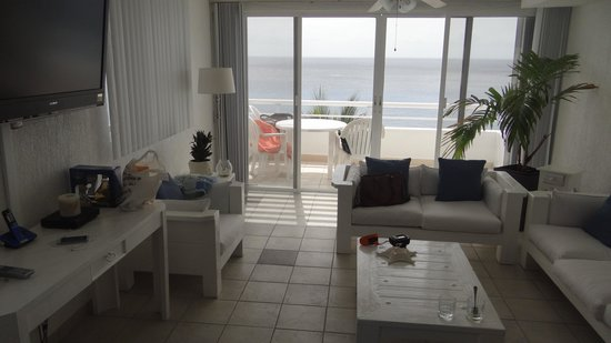 Miramar Condominiums Cozumel : Living room