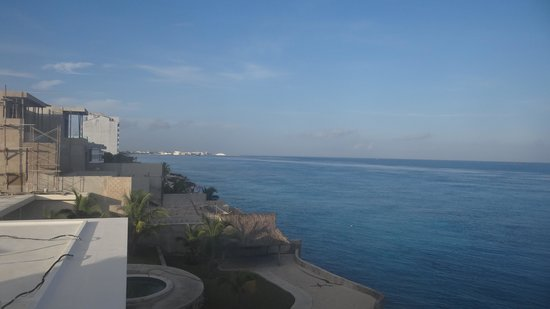Miramar Condominiums Cozumel : View From Our Balcony