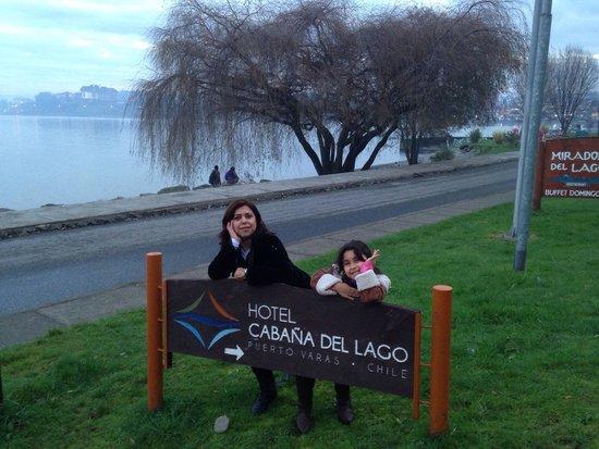 Hotel Cabana del Lago : Vista para o Lago
