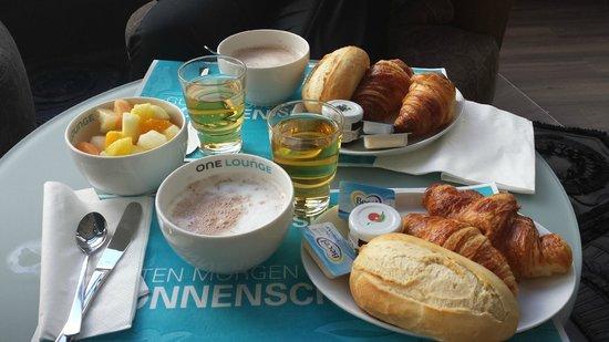 Motel One: petit déjeuner