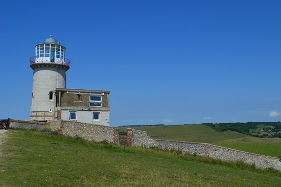 Belle Tout Lighthouse: the lighthouse