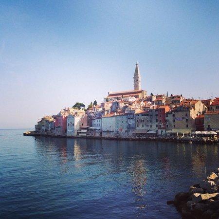 Island Hotel Istra: Rovinj from the jetty