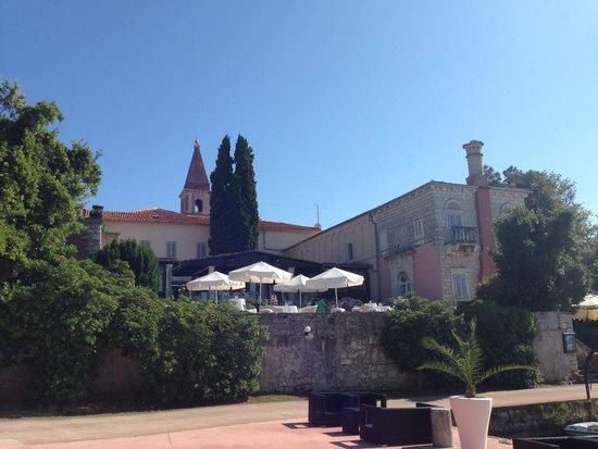 Island Hotel Istra: La Lanterna Restaurant. Photo taken from Captain's Club