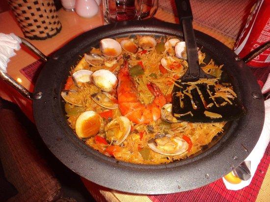 Mediterraneo Spanish & Italian Restaurant : mi Fideua, june 2014