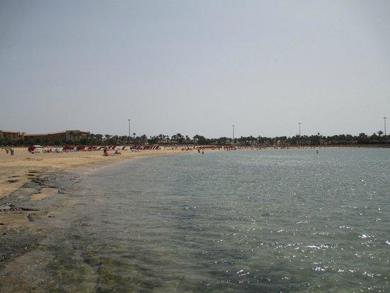Geranios Suites & Spa Hotel: Caleta beach.