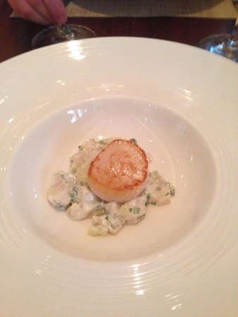 Outlaw's at The Capital: Scallop Tartare - From new book!