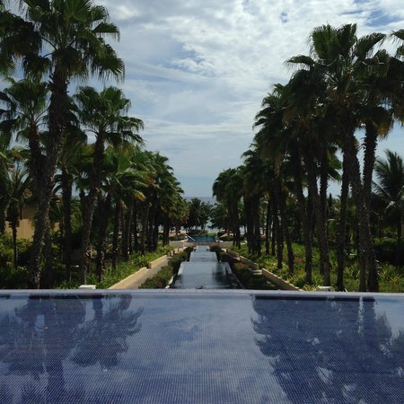 The St. Regis Punta Mita Resort : view from lobby