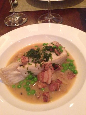 Outlaw's at The Capital: Turbot dish from new cookbook