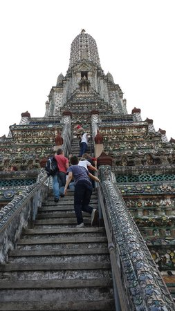 Templo del Amanecer (Wat Arun): Climbing Wat Arun