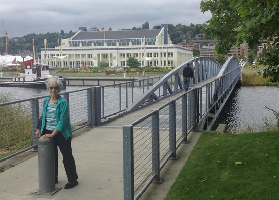 Museum of History & Industry: The bridge to the museum
