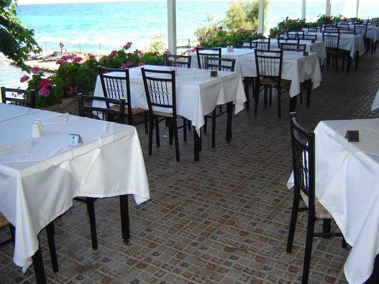Sentido Alexandra Beach Resort: the restaurant with wiev to the sea