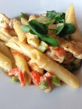 Mauritzberg Golf Resort: För barnet: vällagad jättegod pasta med grönsaker