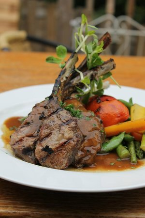 Bella of Ancaster - Philip Shaver House : Delicious Ontario Rack of Lamb
