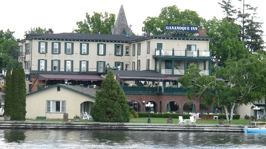 The Gananoque Inn and Spa: From the bridge