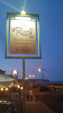 The Reef: A Wonderful and Charming Restaurant and Bar right on the Seafront