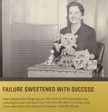 Museum of History & Industry: Failures and successes in innovation section