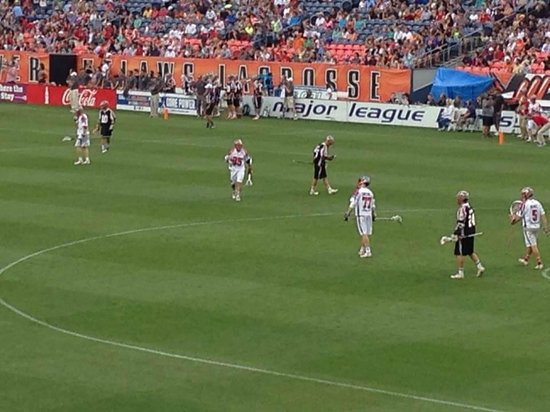 Sports Authority Field at Mile High: Denver Outlaws lacross