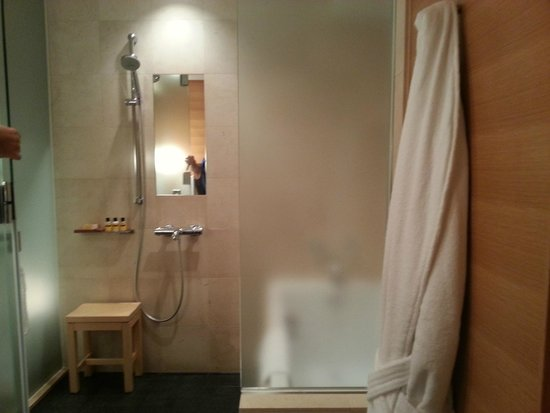 Hyatt Regency Kyoto: Shower Area and Bathtub