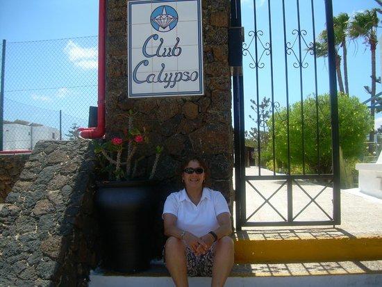 Apartments Club Calypso : Entrance to the resort