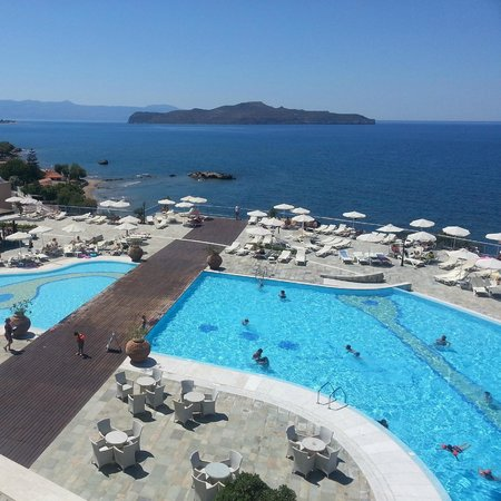 Panorama Hotel - Chania : View from our room (221)