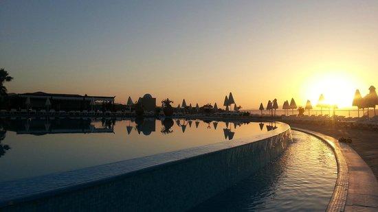 Panorama Hotel - Chania: Sunset