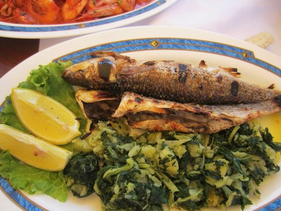 Konoba Komin: pescado a la plancha