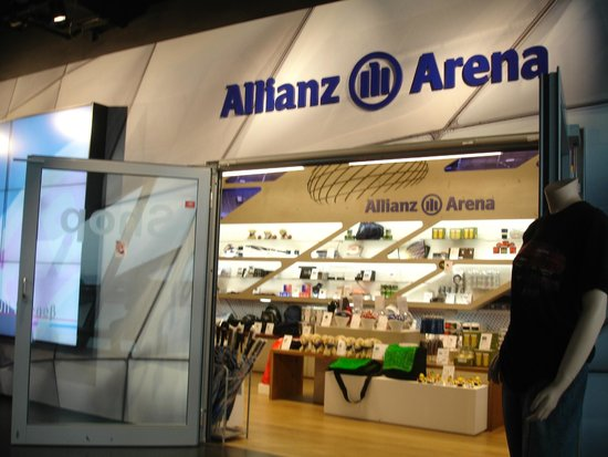 Allianz Arena: Arena shop