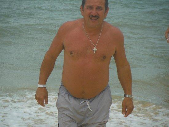 Sunshine Praia Hotel: linda playa