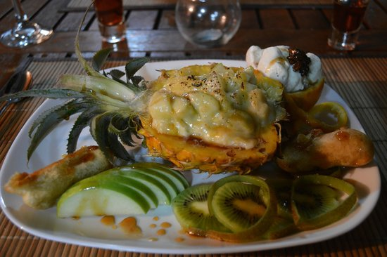 La Rougaille Creole : amazing dessert !