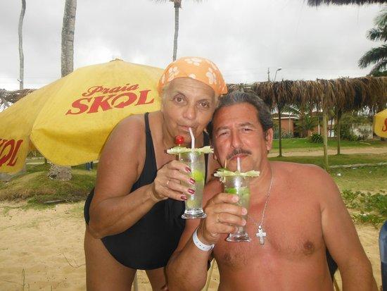 Sunshine Praia Hotel: playa