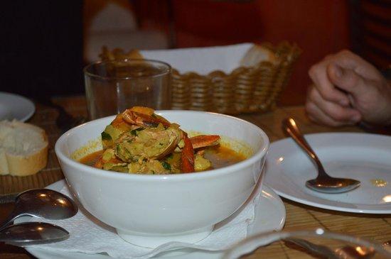 La Rougaille Creole : fish soup