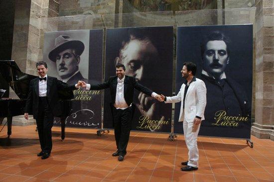 Puccini e la sua Lucca International Permanent Festival : the performers