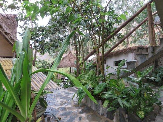 Eco Quechua Lodge: la douche
