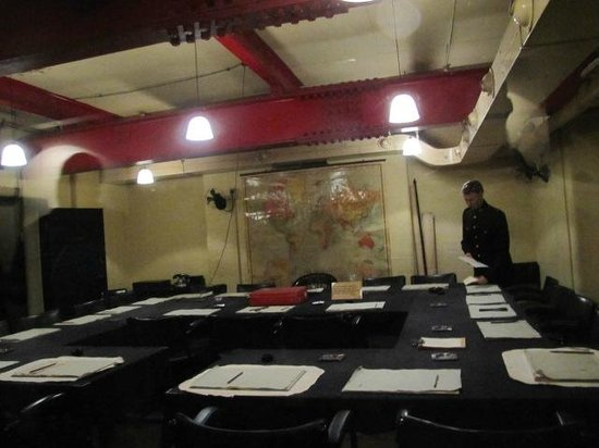 Churchill War Rooms: Operations were planned here