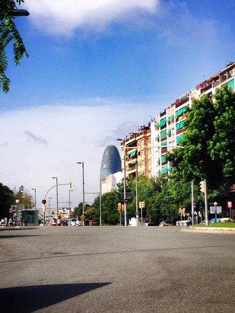 Torre Agbar : 1