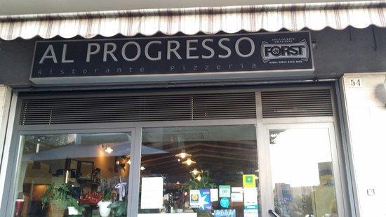 Al Progresso Ristorante & Pizzeria: Al Progresso