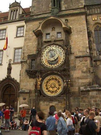 Hôtel de ville de la Vieille ville et l'horloge astronomique : The Clock