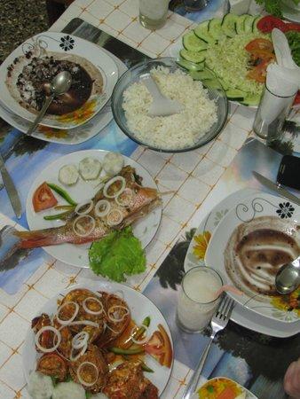 Villa Jorge y Ana Luisa: Dining