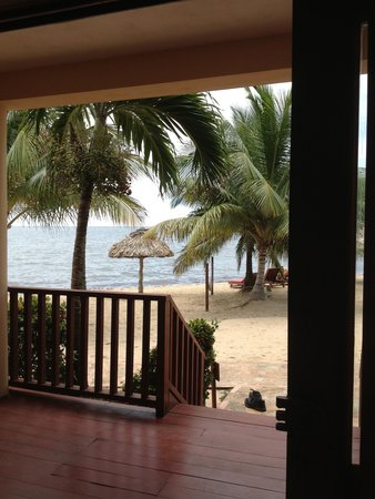 Belizean Dreams Resort: View from our villa