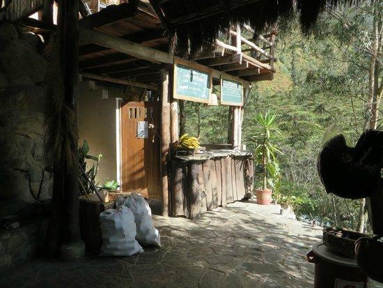 Eco Quechua Lodge: la cuisine. Fruits à volonté!
