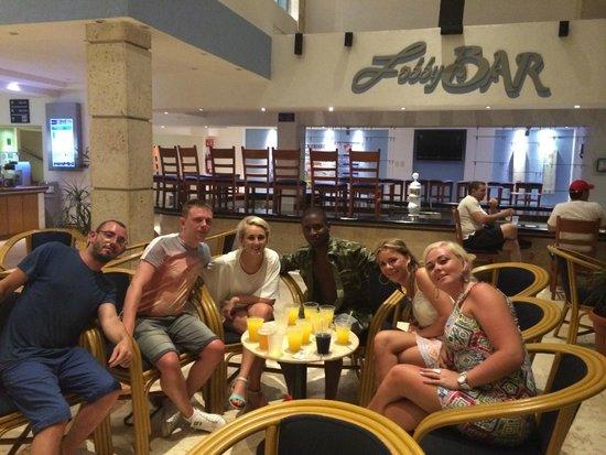 Barcelo Costa Cancun: new friends