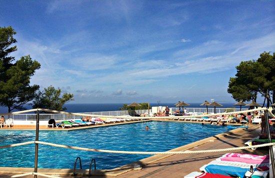 Sun Club Eldorado: view from pool (one of 3 pools)